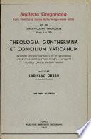 Theologia Güntheriana et Concilium Vaticanum Pdf/ePub eBook