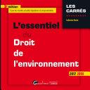 L'essentiel du droit de l'environnement 2017-2018