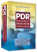 PDR Drug Guide for Mental Health Professionals Book