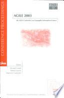 Agile 2003 Book PDF