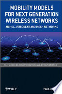 Mobility Models for Next Generation Wireless Networks Book