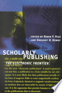 Scholarly Publishing Book