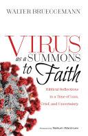 Virus as a Summons to Faith Pdf/ePub eBook