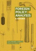 Foreign Policy Analysis [Pdf/ePub] eBook