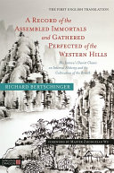 A Record of the Assembled Immortals and Gathered Perfected of the Western Hills Pdf/ePub eBook