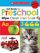 Get Ready for Pre K Wipe Clean Workbook
