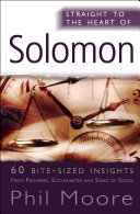 Pdf Straight to the Heart of Solomon