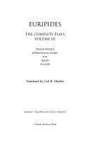 The Complete Plays  Trojan women  Iphigeneia in Tauris  Ion  Helen  Cyclops