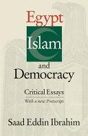 Egypt  Islam and Democracy