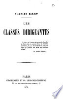 Les classes dirigeantes
