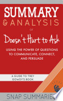 Summary & Analysis of Doesn't Hurt to Ask