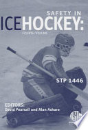 Safety in Ice Hockey Book