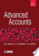 Advanced Accounts  19th Edition  Library Edition  Book