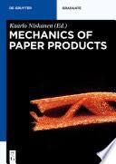 Mechanics of Paper Products