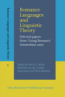 Romance Languages and Linguistic Theory