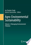 Agro Environmental Sustainability