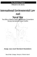 International Environmental Law And Naval War