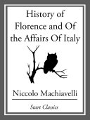 Pdf History of Florence and Of the Affairs Of Italy Telecharger
