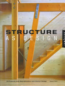 Structure as design