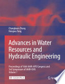 Advances in Water Resources   Hydraulic Engineering