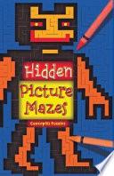 Hidden Picture Mazes Book