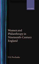 Women and Philanthropy in Nineteenth-century England