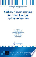 Carbon Nanomaterials in Clean Energy Hydrogen Systems Book