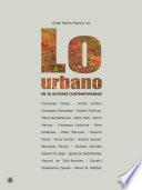 Lo urbano en 20 autores contemporáneos