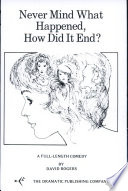 Never Mind What Happened  How Did It End  Book