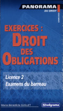 Exercices, droit des obligations