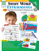 Sight Word Extravaganza!, Grades PK - 1 Pdf/ePub eBook