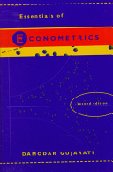 Cover of Essentials of Econometrics