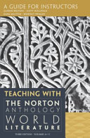 Teaching with the Norton Anthology of World Literature Book