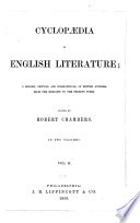 Chamber's Cyclopaedia of English Literature