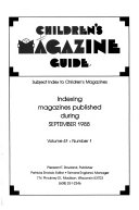 Children s Magazine Guide Book