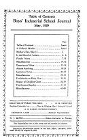 The Industrial School Journal