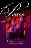 Advent Fourth Sunday Purple Bulletin 2010, Regular (Package Of 50)