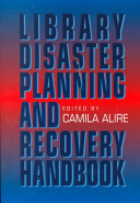 Library Disaster Planning and Recovery Handbook Book