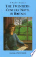 A Reader S Guide To The Twentieth Century Novel In Britain