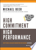 High Commitment High Performance Book