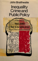 Inequality, Crime, and Public Policy