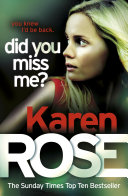 Did You Miss Me   The Baltimore Series Book 3