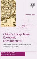 China   s Long Term Economic Development