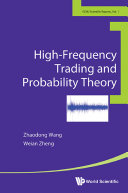 High frequency Trading And Probability Theory