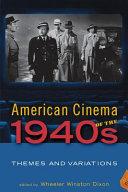 American Cinema of the 1940s