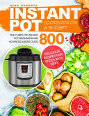 Instant Pot Cookbook on a Budget