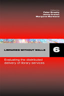 Libraries Without Walls 6 Book