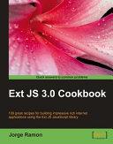 Ext JS 3 0 Cookbook