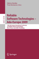 Reliable Software Technologies   Ada Europe 2009