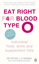 Eat Right for Blood Type O ebook